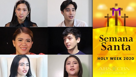 Childhood Memories of Kapamilya stars during Holy Week