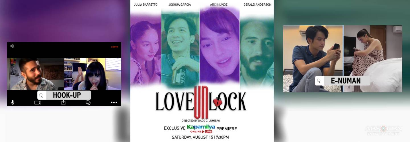 "Joshua, Julia, Arci, Gerald reunite as they set their feelings free in ""Love Unlock"""