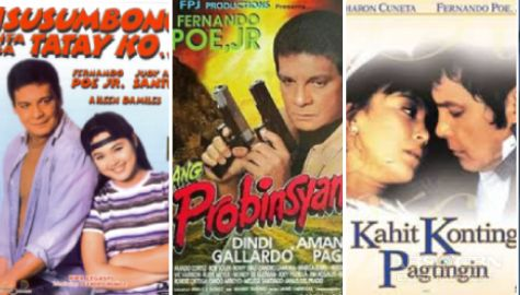"12 blockbuster films that made FPJ ""Da King"" of the box office"