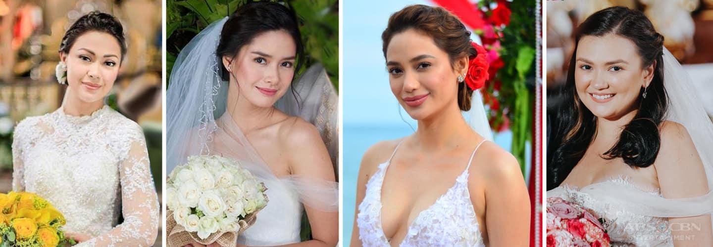 Kapamilya Snaps: Stunning, breathtaking on-screen brides from Kapamilya teleseryes