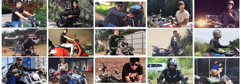 Kapamilya Snaps: 15 Kapamilya celebs and their cool motorbikes