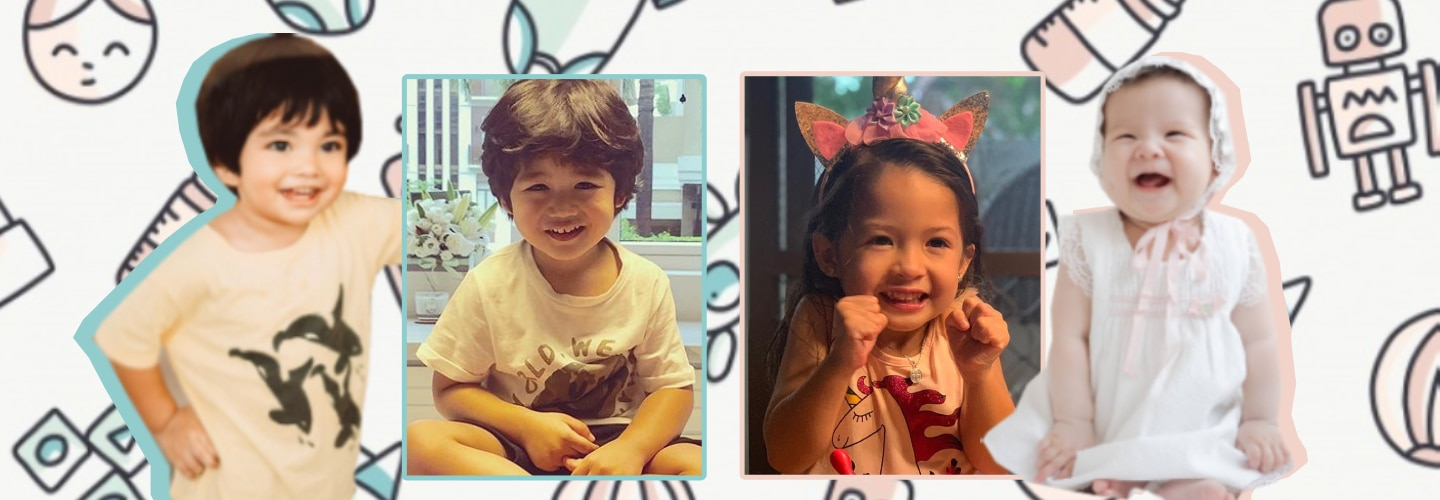 Kapamilya Snaps: These adorable celebrity babies could be the next generation of superstars