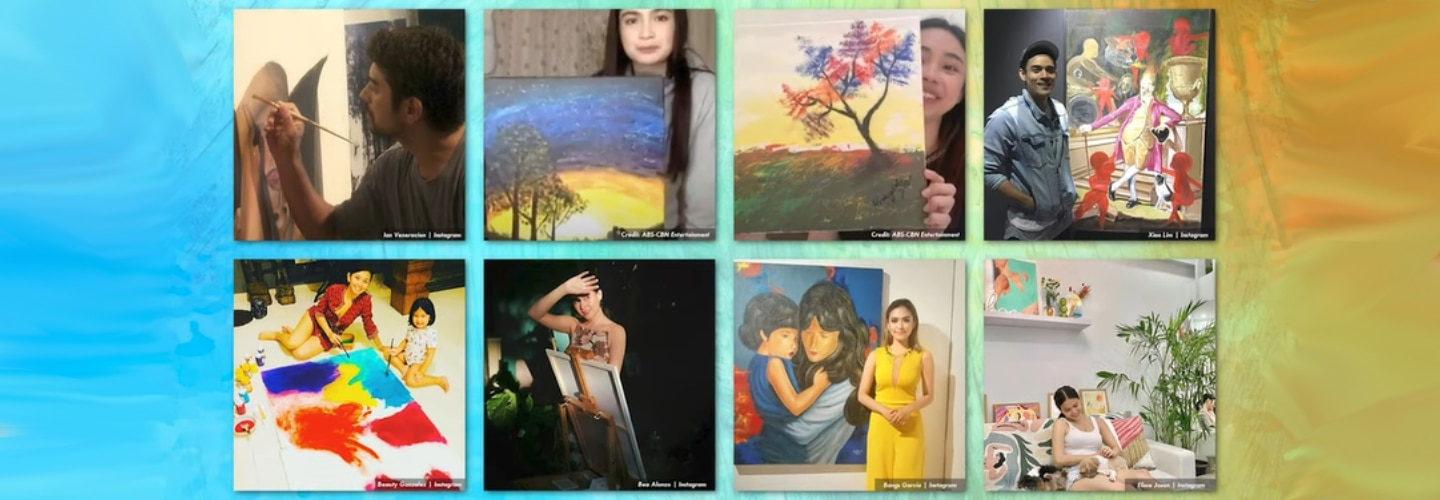 Kapamilya Snaps: These local celebs are talented painters as well!