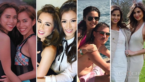 Kapamilya Snaps: Meet the celebrities who are ultimate sibling goals