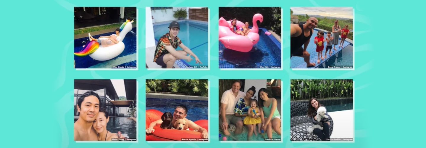 Kapamilya Snaps: Dive in to this celebrity swimming pools!