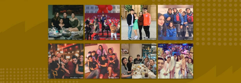Kapamilya Snaps: Inspiring celebrity barkadas that share fun, memorable times together