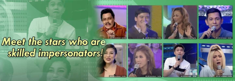 Kapamilya Snaps: 8 Celebrities nailing funny, on-point impersonators of fellow stars