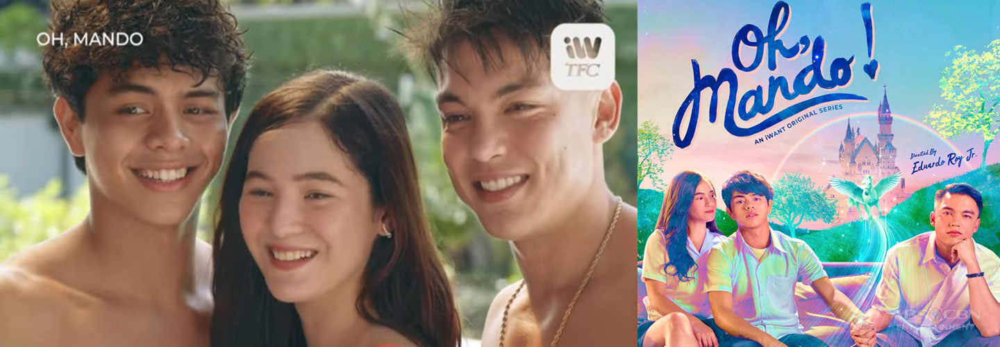 """Kokoy gets stuck in love triangle between Barbie and Alex in iWant TFC's """"Oh, Mando"""""""