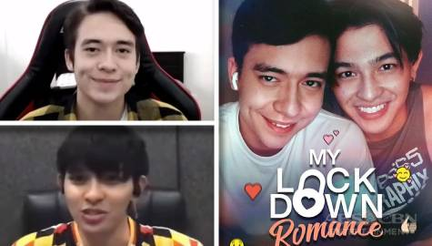 "Newest BL tandem Jameson Blake and Joao Constancia on the challenges and chemistry in filming ""My Lockdown Romance"""