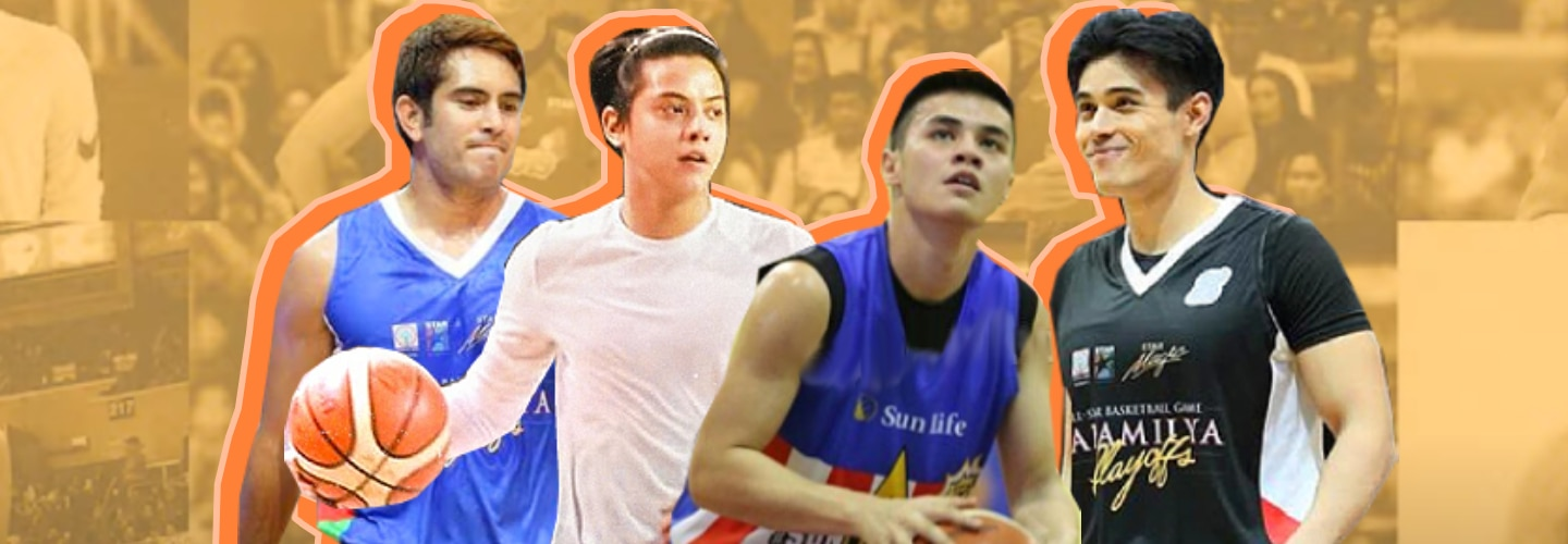 Kapamilya Snaps: Kapamilya heartthrobs who are stars in the hardcourt, too!