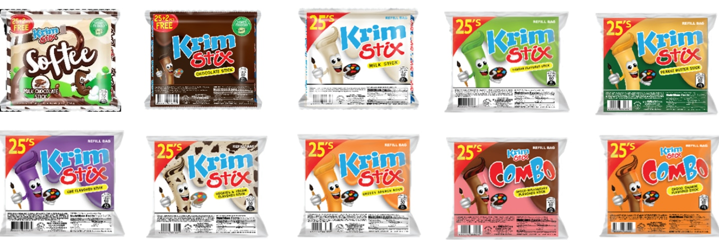 Team Yey makes snack time more delightful and exciting with Krimstix Softee!