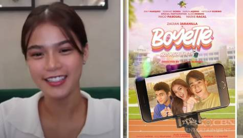 "Maris Racal on reuniting with Inigo Pascual and working with the cast of ""Boyette: Not a Girl Yet"""