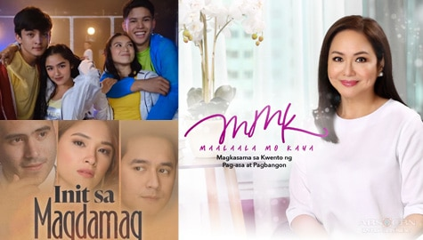 Init sa Magdamag, Gold Squad Show and new MMK episodes to air on ABS-CBN platforms and A2Z Channel