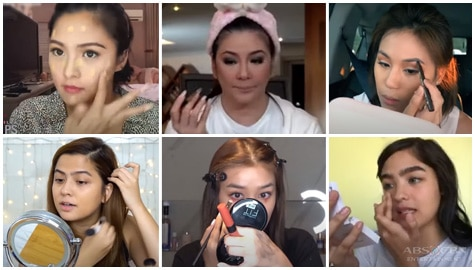 Kapamilya Snaps: These 14 celebs will definitely wow you with their makeup skills!