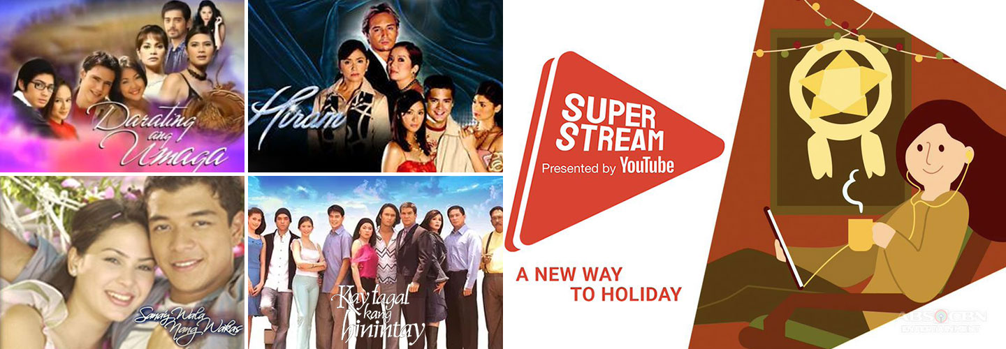 ABS-CBN streams classic teleseryes on YouTube SuperStream
