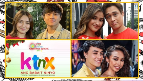 KathNiel, MayWard, LizQuen and other Kapamilya stars headline KTX.PH's fundrasing pre-show for ABS-CBN Christmas Special