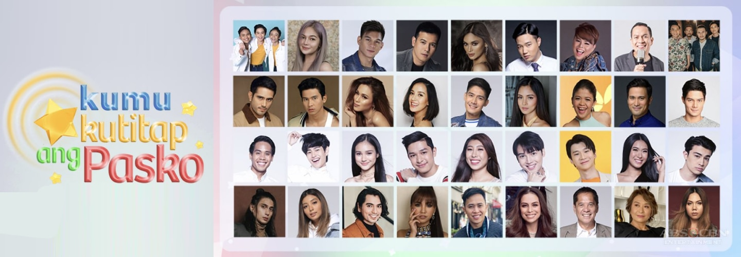 "ABS-CBN Christmas Special pre-show on KUMU ""Kumukutitap ang Pasko"" gathers over 100 stars for a cause"