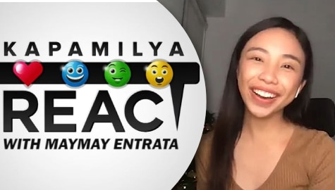 Kapamilya React: Lots of laughter as Maymay Entrata reacts to her past television roles