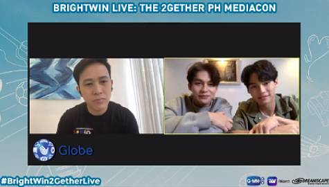 """Mahal Ko Kayo, Kapamilya!"" BrightWin announce fandom name, greet fans in 2Gether: The Series Live PH Mediacon"
