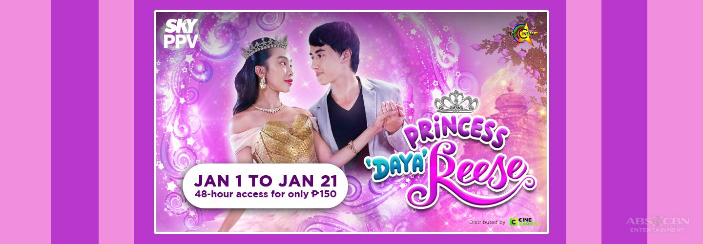 "MayWard's ""Princess Dayareese"" airs on Sky Movies pay-per-view this year"