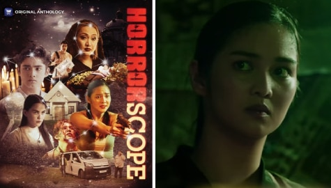 "Charlie Dizon takes on first horror role in iWantTFC's horror anthology series ""Horrorscope"""