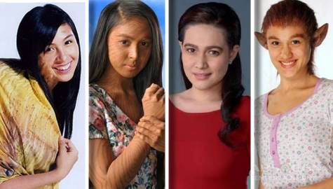 Kapamilya Snaps: Stars who changed their looks in dramatic transformations for teleserye roles