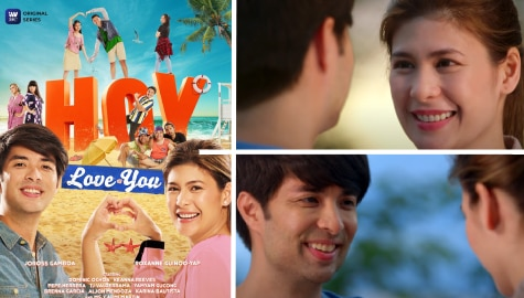 "Joross and Roxanne find love as single parents in iWantTFC romcom ""Hoy, Love You!"""