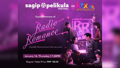 "Remastered ""Radio Romance"" to premiere digitally on KTX.ph"