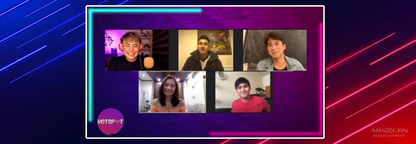 """Hotspot: JC, Markus, Gillian, Migs show excitement for upcoming film version of """"Hello, Stranger"""""""