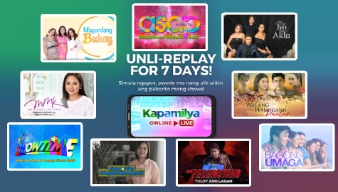 ABS-CBN Entertainment shows now available for 7 days on Kapamilya Online Live
