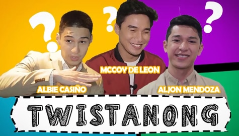 Kapamilya heartthrobs play word games from our childhood Image Thumbnail