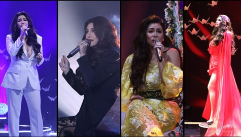 """Regine's """"Freedom"""" surprised concert-viewers with stunning lineup, astounding performance"""