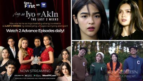 "iWantTFC streams ""Ang Sa Iyo Ay Akin,"" ""Huwag Kang Mangamba"" and ""Aja Aja"" ahead of TV premiere"