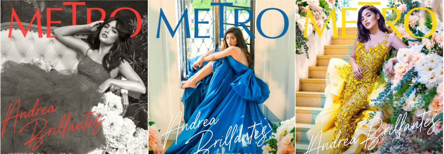 Metro celebrates Andrea Brillantes' 18th birthday with a grand debut shoot