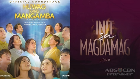 Angeline, Jona sing theme songs of new ABS-CBN series Huwag Kang Mangamba and Init Sa Magdamag