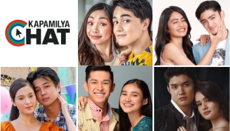 Your fave love teams bring us extra doses of 'kilig' and fun via Kapamilya Chat games!