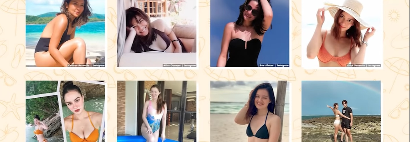 Kapamilya Snaps: 9 actresses who captivate social media followers with rare, viral swimsuit photos