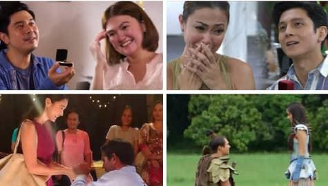 Kilig-loaded teleserye proposal scenes that gave us all the feels!