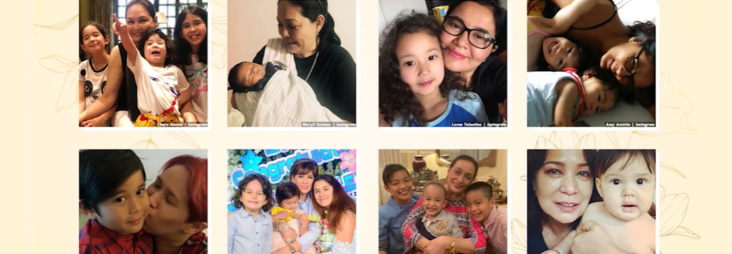 Kapamilya Snaps: 8 veteran actresses who are also doting, loving grandmothers in real life