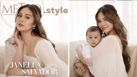 Janella celebrates her first Mother's Day with Metro.Style