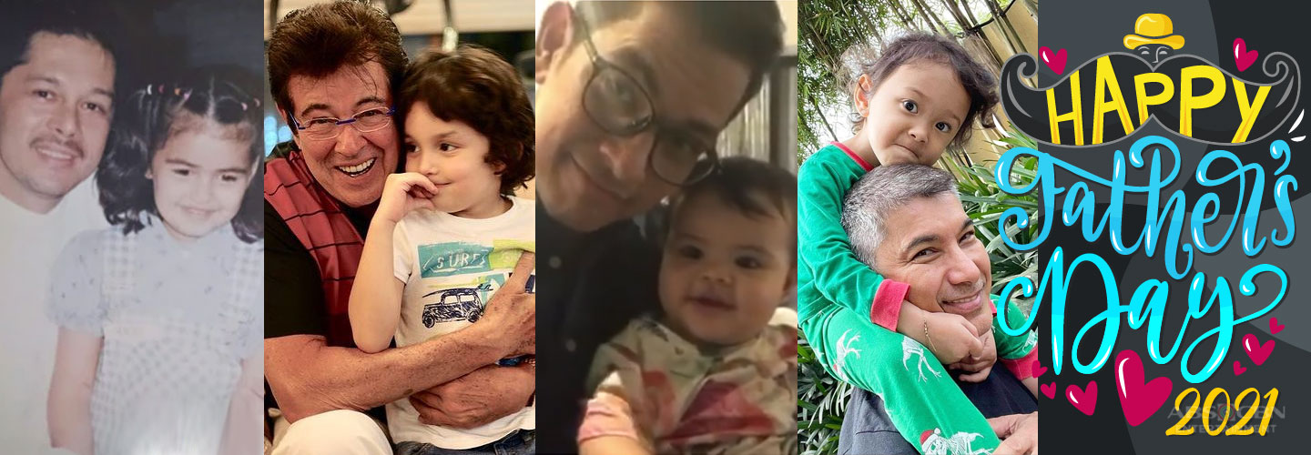 Kapamilya Snaps: 7 Endearing celebrity grandfathers we all admire and love