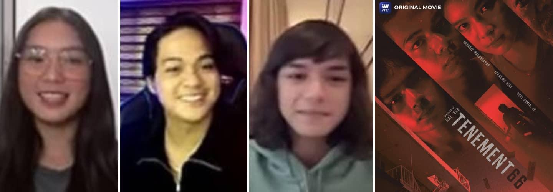 Francine Diaz, Francis Magundayao, Noel Comia Jr share challenges in filming Tenement 66