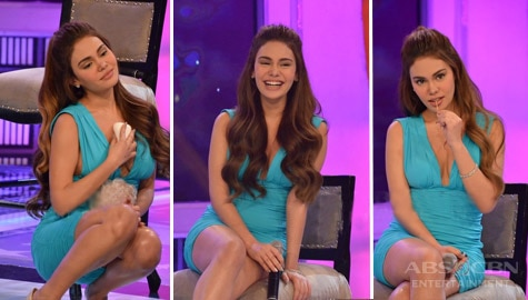 funny and sexy moments of Ivana Alawi on Gandang Gabi Vice that trended online