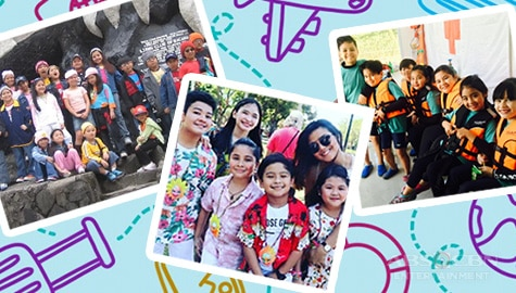 Fun, memorable out-of-town trips of Goin' Bulilit cast through the years!