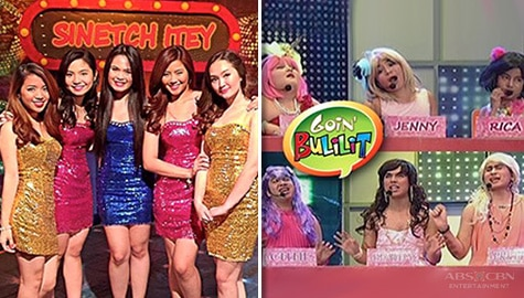 "These classic Goin' Bulilit ""Sinetch Itey"" gags combine throwback and laughter!"