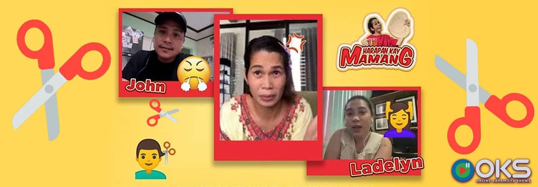 """Angry wife irks husband over a botched haircut in """"Harapan Kay Mamang"""""""