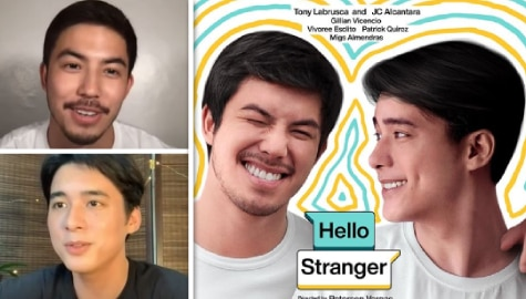 "Tony Labrusca, JC Alcantara reveal what made them accept roles in ""Hello Stranger"""