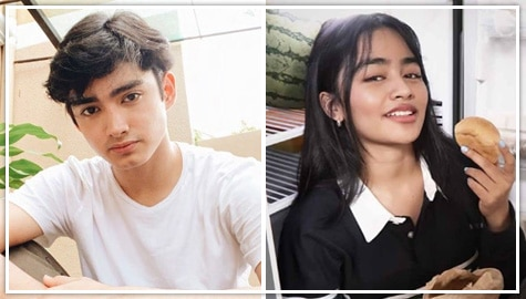 "The stories behind Patrick and Vivoree's ""Love from Home"" photos"