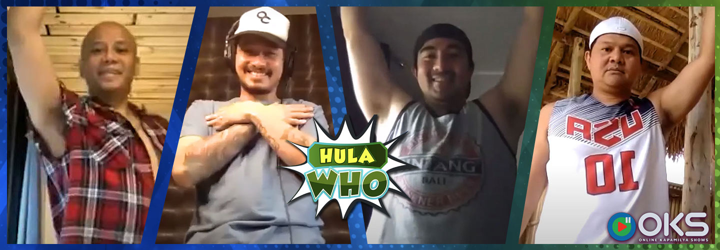 "Team Kalabaw collabs for a spontaneous Tiktok dance challenge on ""Hula Who!"""