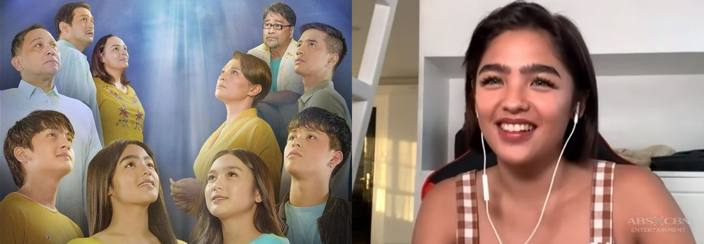 """Andrea Brillantes walks by faith and not by sight in """"Huwag Kang Mangamba,"""" talks about working with veterans"""